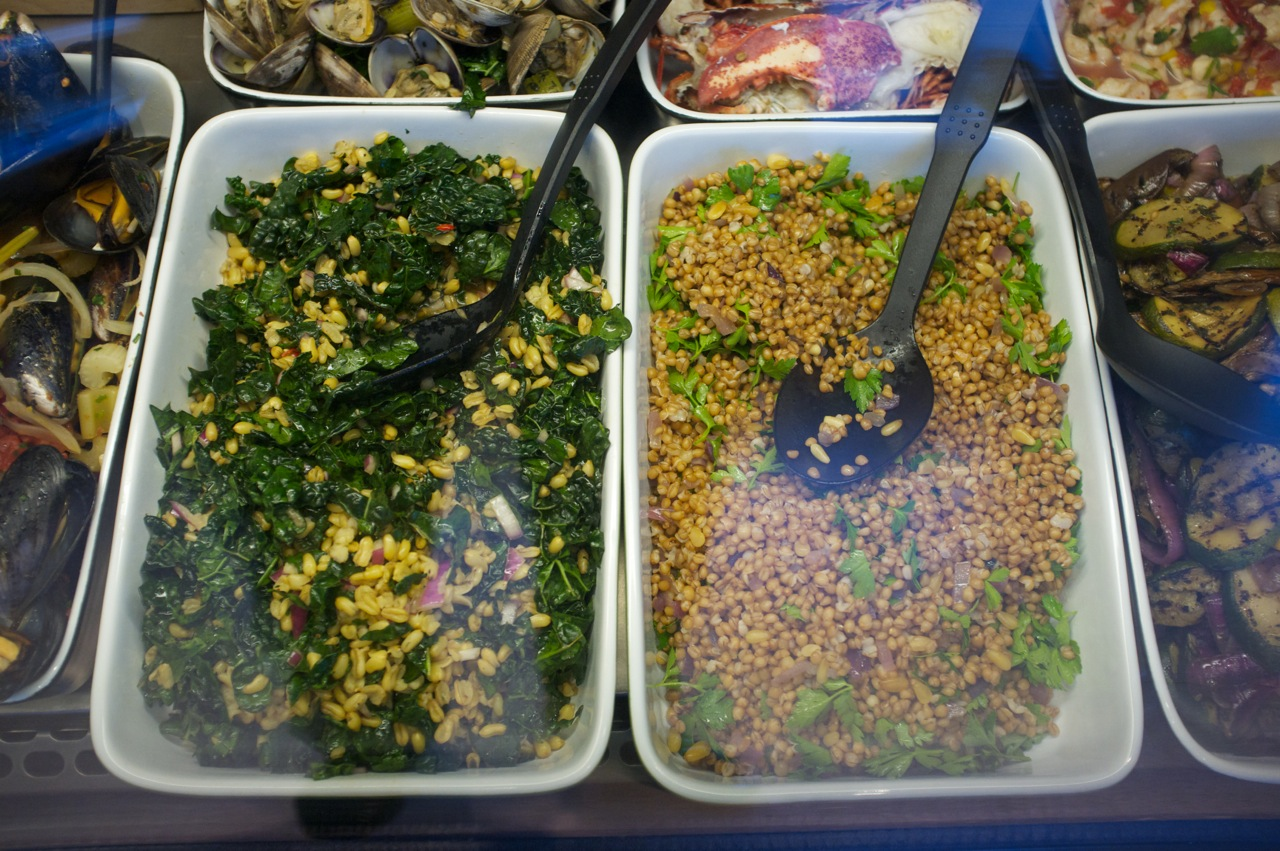 Salads and Grains