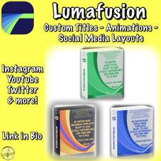 LUMAFUSION CUTOM DESIGNS PACKS