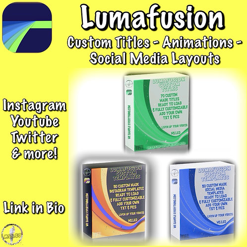 LumaFusion Bundle- All 3 Packs for $10