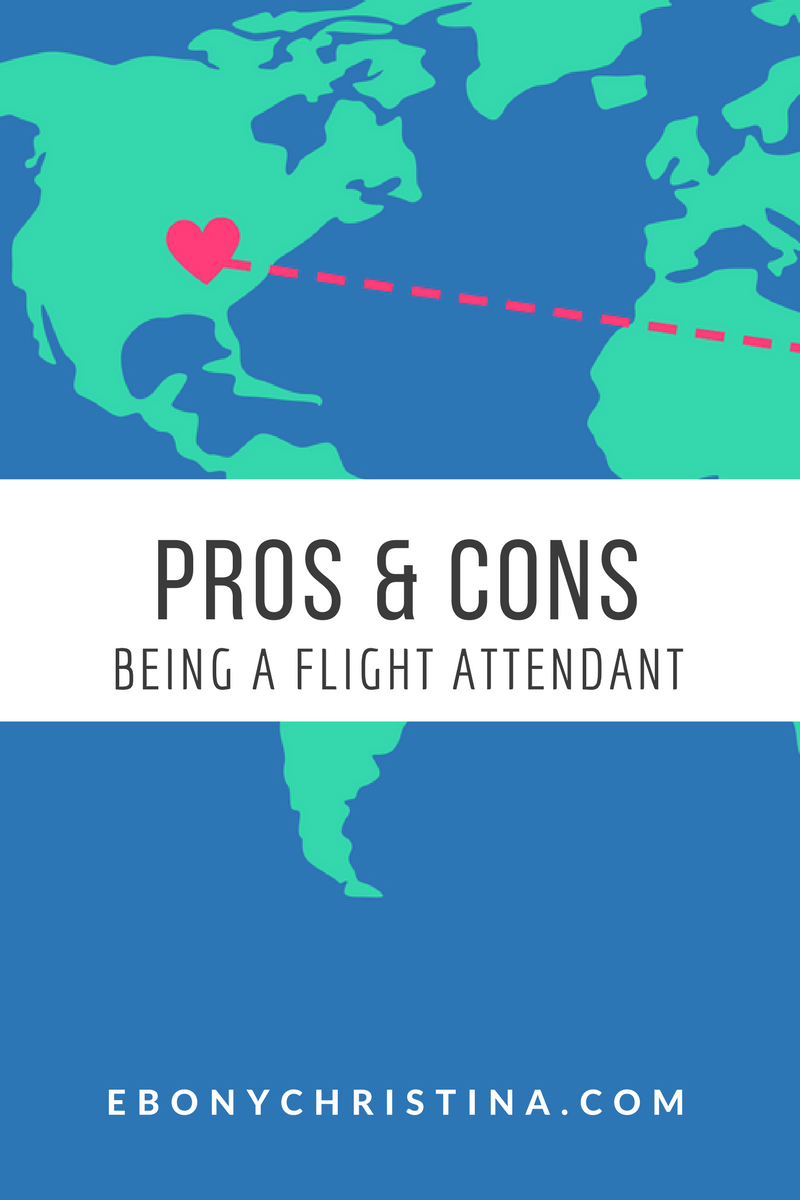 ebony christina how to become a flight attendant pros cons of being a flight attendant