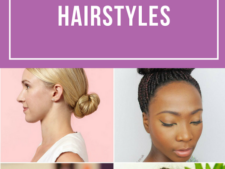 The Best Flight Attendant Styles for ALL Hair Types