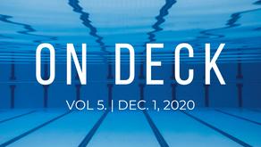 ON DECK | Dec. 1, 2020