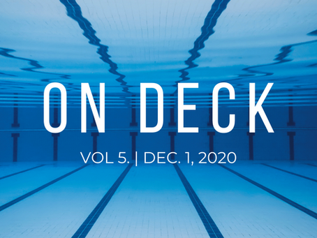 ON DECK | Dec. 1, 2020