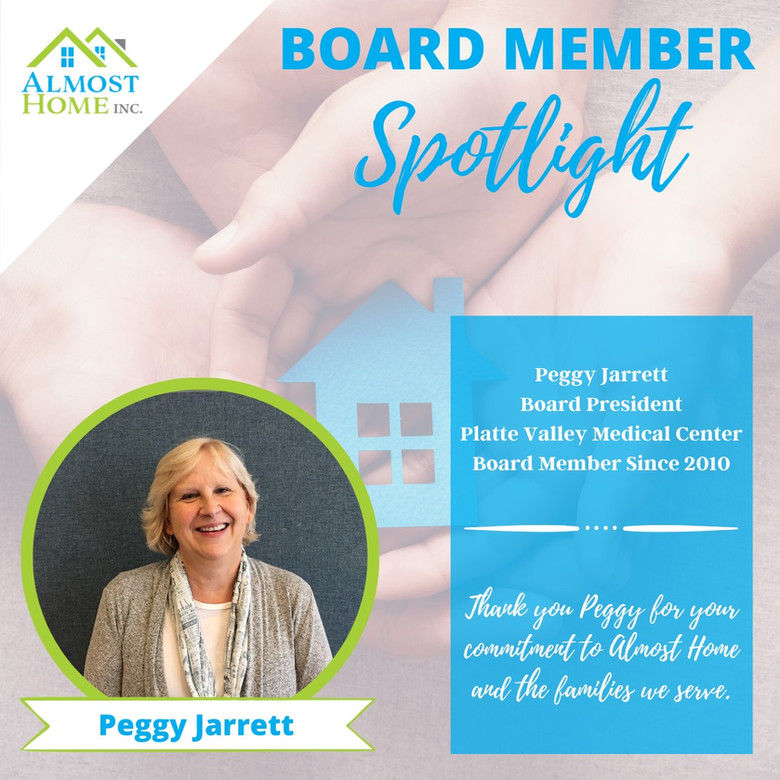 Board Member Spotlight - Peggy Jarrett, Board President