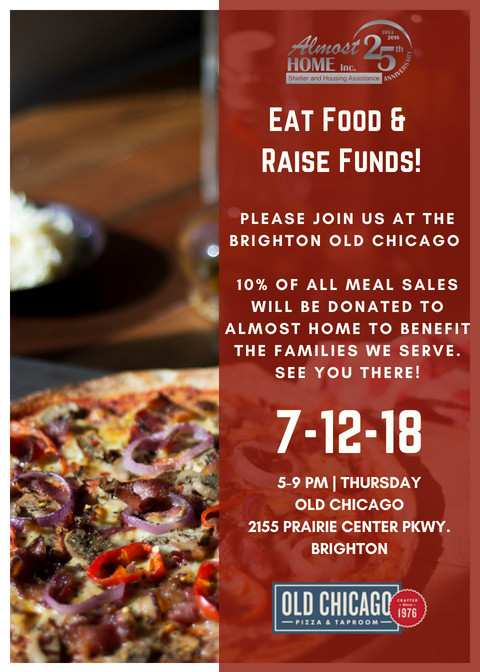 Eat Food & Raise Funds to Benefit Almost Home