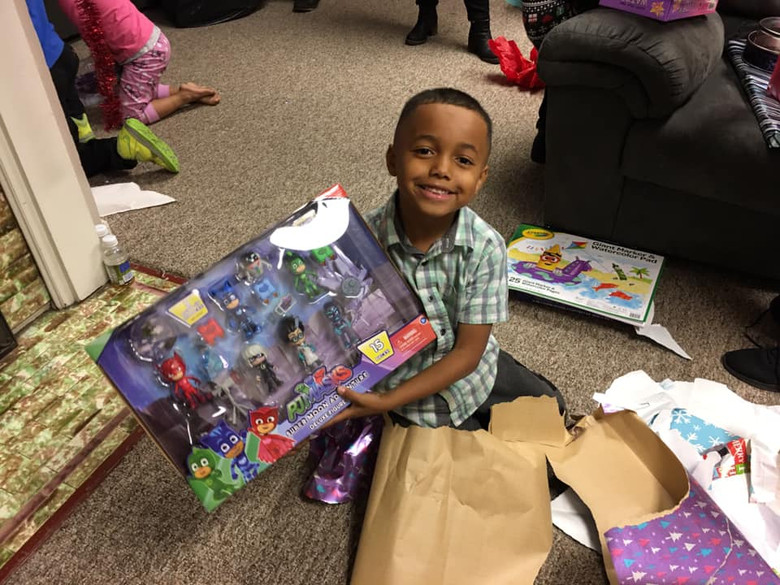 Happy Holidays for Families in Shelter