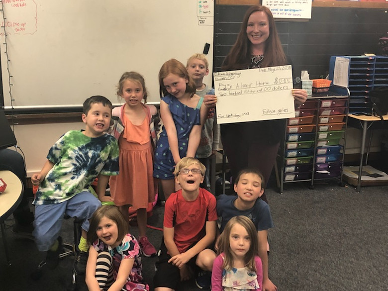 Edison Elementary Supports Almost Home
