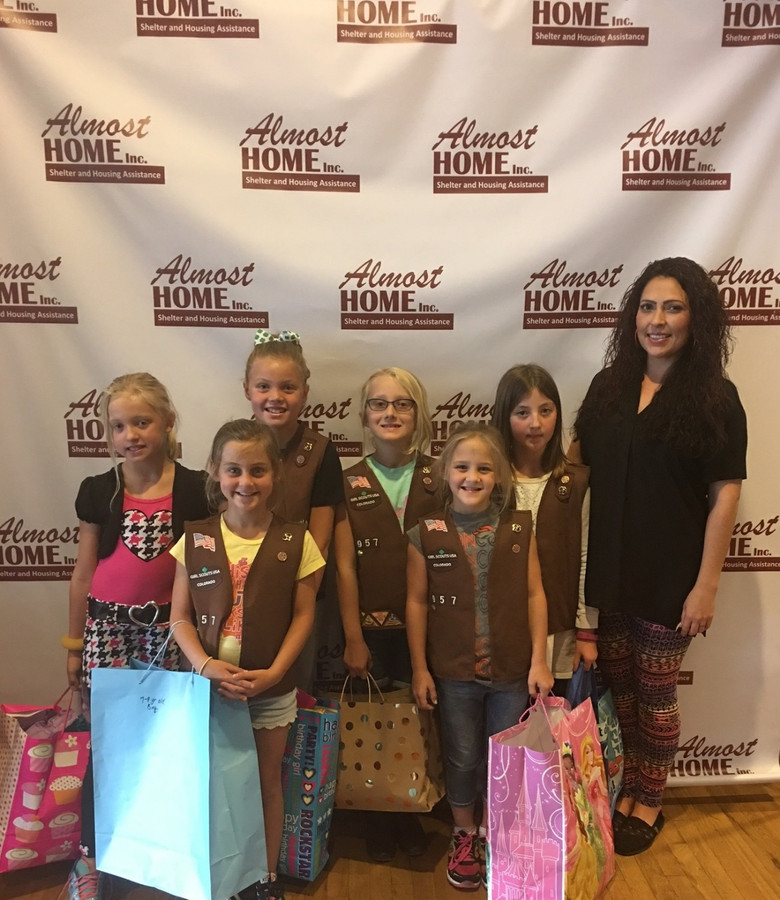 Girl Scouts Give Back