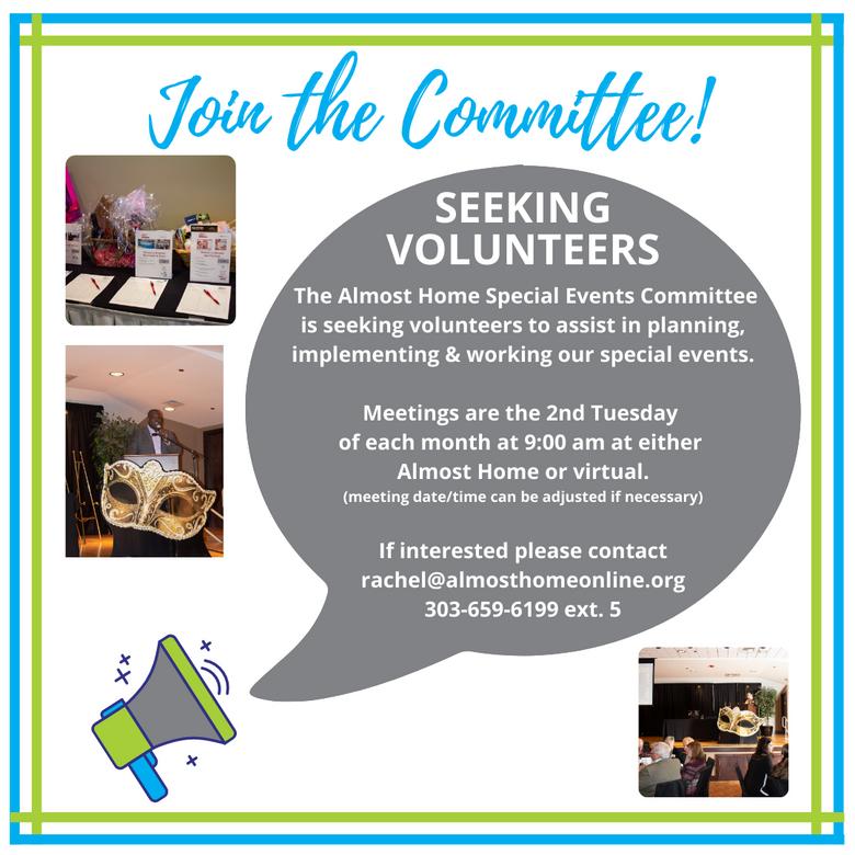 Fundraising Committee Seeks Volunteers