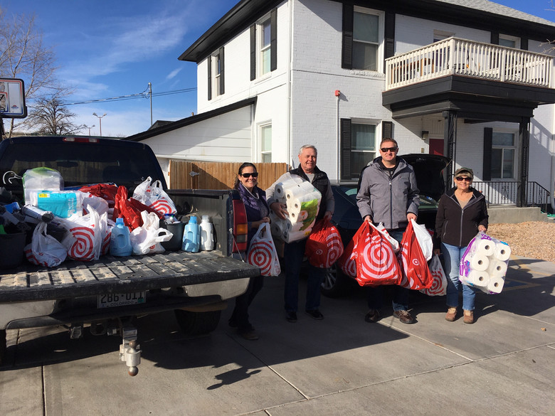 Zion Lutheran School Makes Annual Goods Donation to Shelter