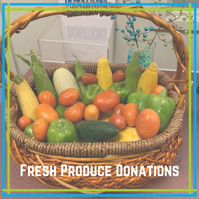 Almost Home Accepting Fresh Produce Donations
