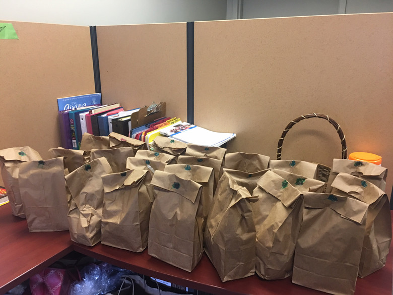 Students Donate Care Packages