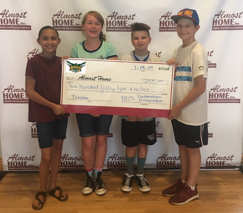 Bromley East Charter School Makes Donation