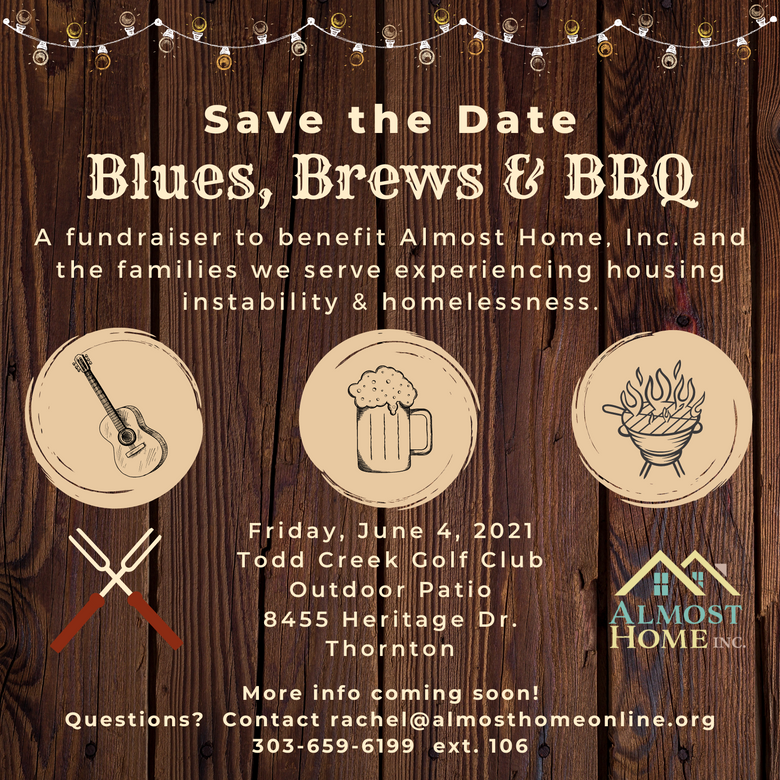 Almost Home Announces Upcoming Blues Brews & BBQ Fundraising Event