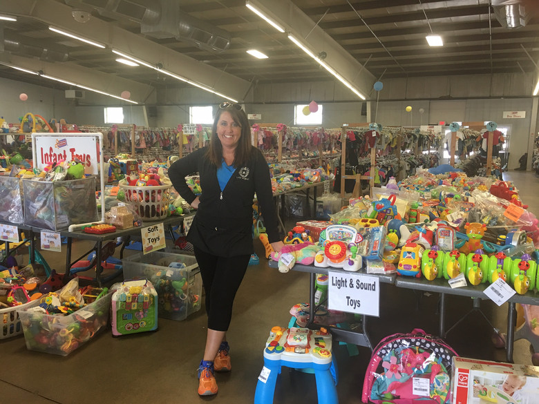 Almost Home Clients Get a Shopping Spree