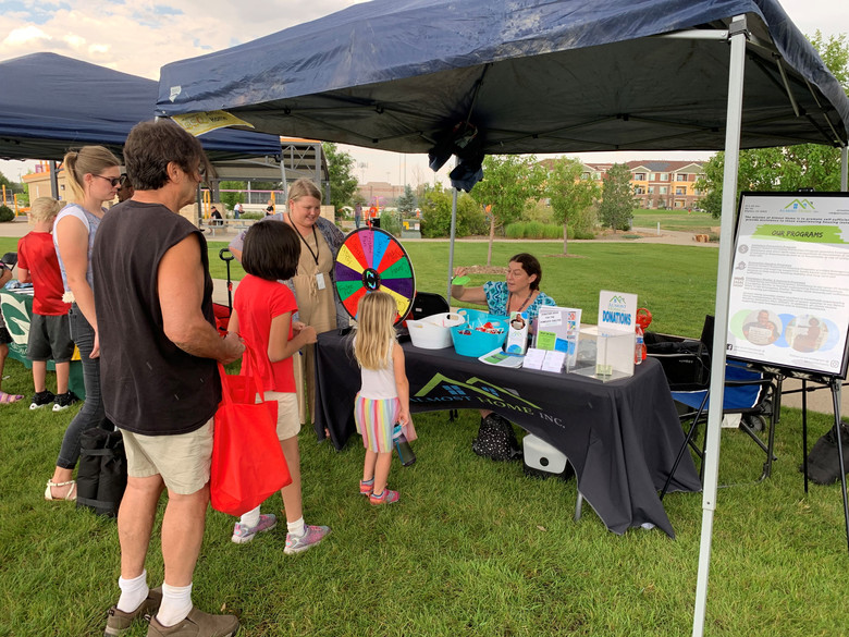 Almost Home Attends Annual City of Brighton Community BBQ