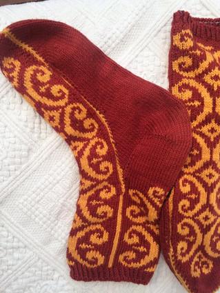 Double Stranded Socks