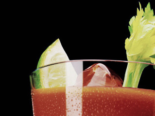 Celery, another source of minerals and a good stirring stick!