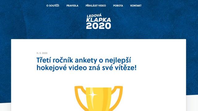 Ledová klapka 2020 je naše!