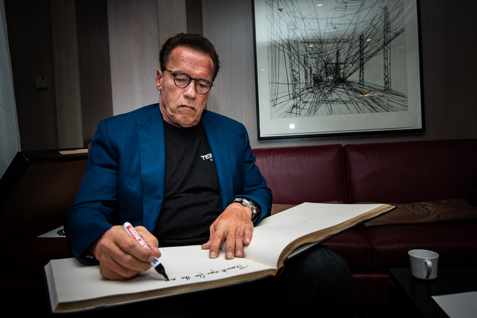 Arnold Schwarzenegger Berlin 2019