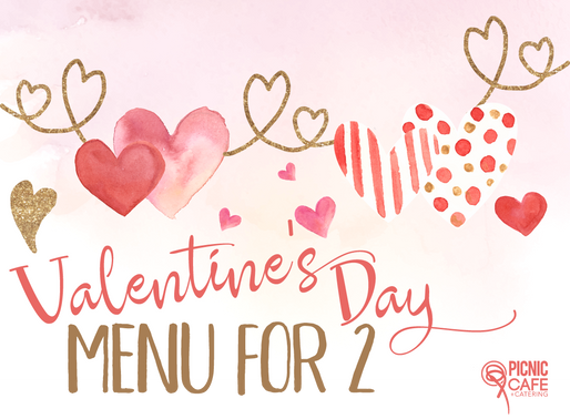 Valentines Day Menu For 2