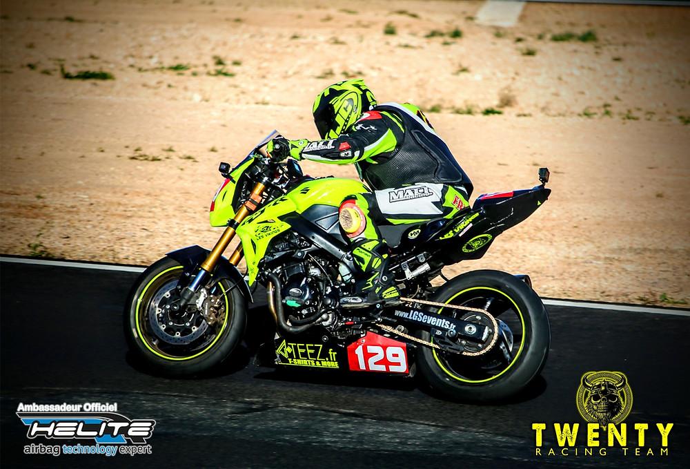 Franck Morel Pilote Moto Bol d'Argent Twenty Racing Team