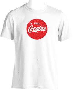 serigraphie tee shirt cocaine