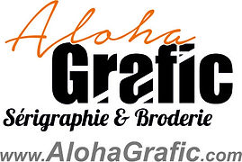serigraphie t shirt, broderie sur casquette aloha grafic