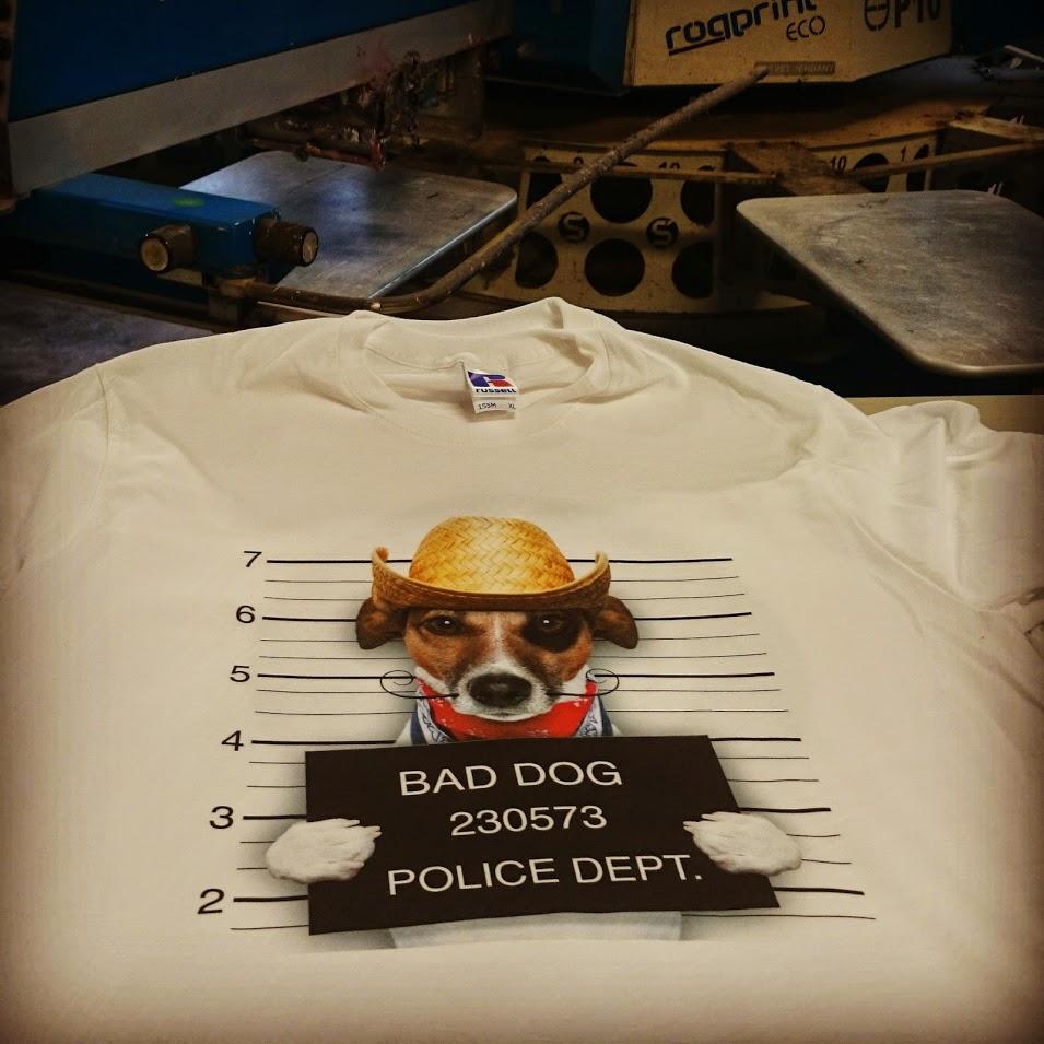 Impression tshirt en numérique DTG