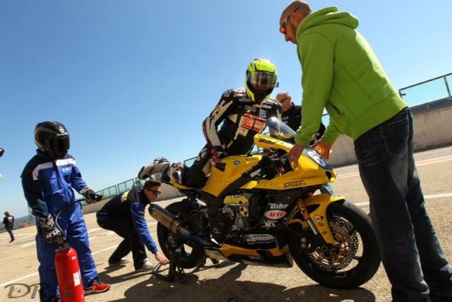 Zanetto Laurent moto Jaune
