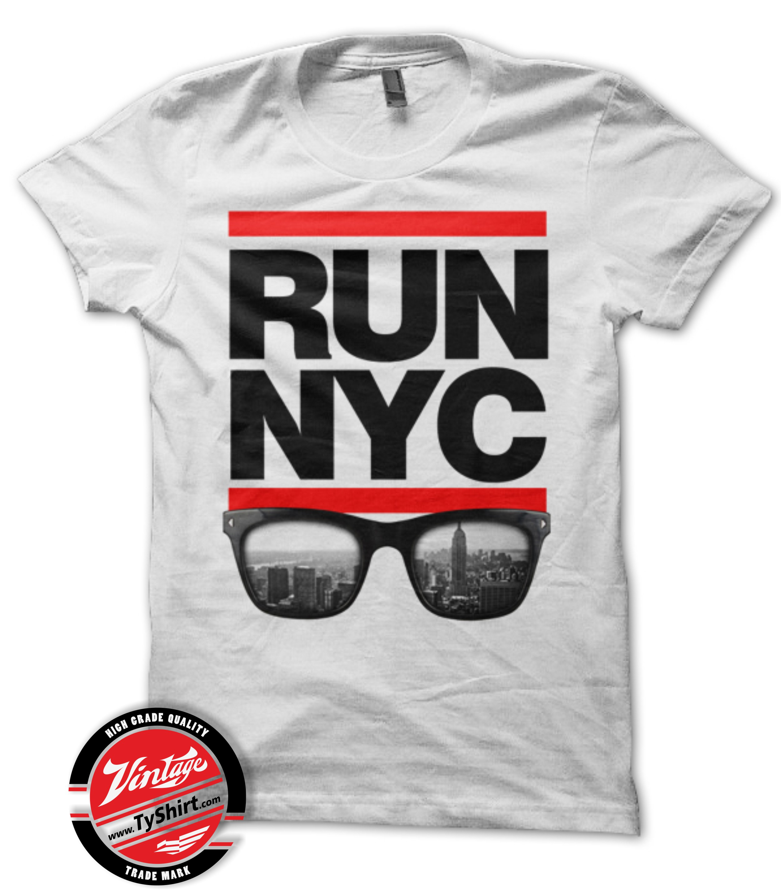 Tee Shirt New York RUN NYC