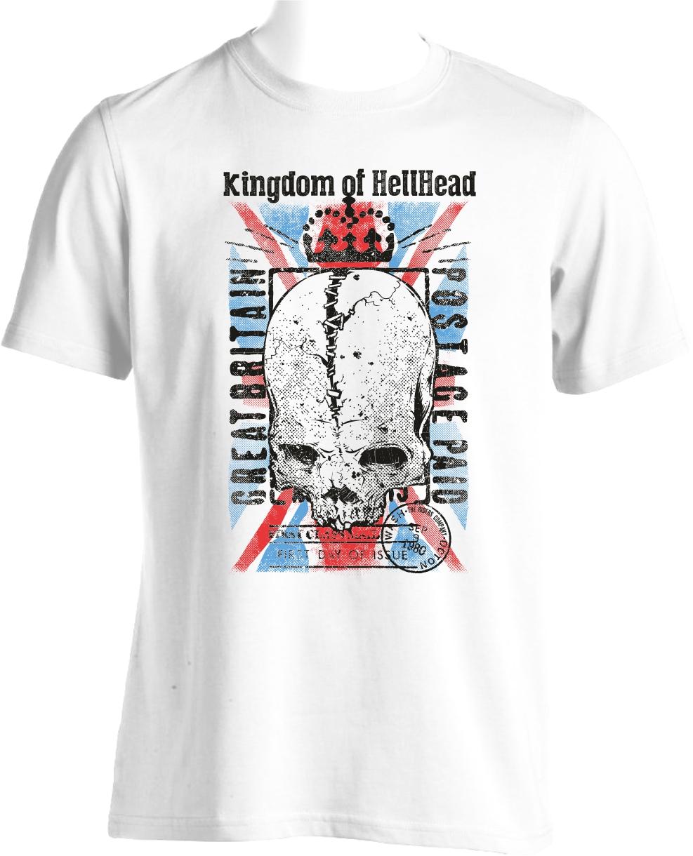 flocage tee shirt hellhead
