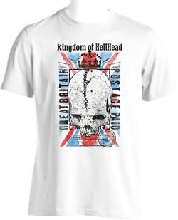 tee shirt hellhead en sérigraphie