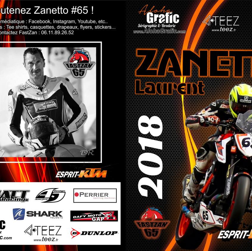 Zanetto saison 2018 AlohaGrafic