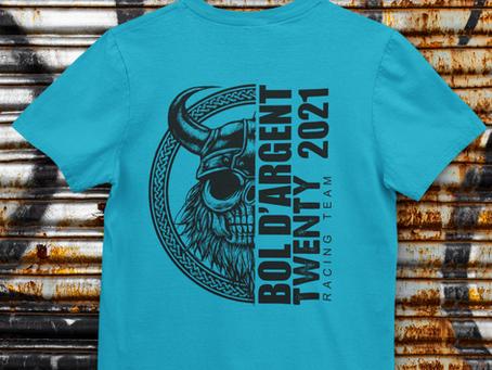 Les Tshirts du Bol d'Argent sont disponibles !