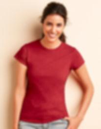 Gildan tee shirt femme