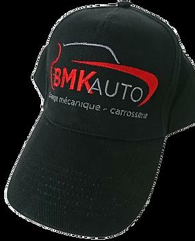 broderie sur casquette BMK auto mecanique auto aloha grafic