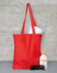 impression tote bag publicitaire coton rouge aloha grafic