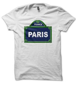 impression t shirt paris