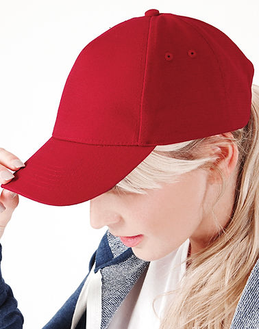 broderie casquette, casquette ultimate rouge Beechfield