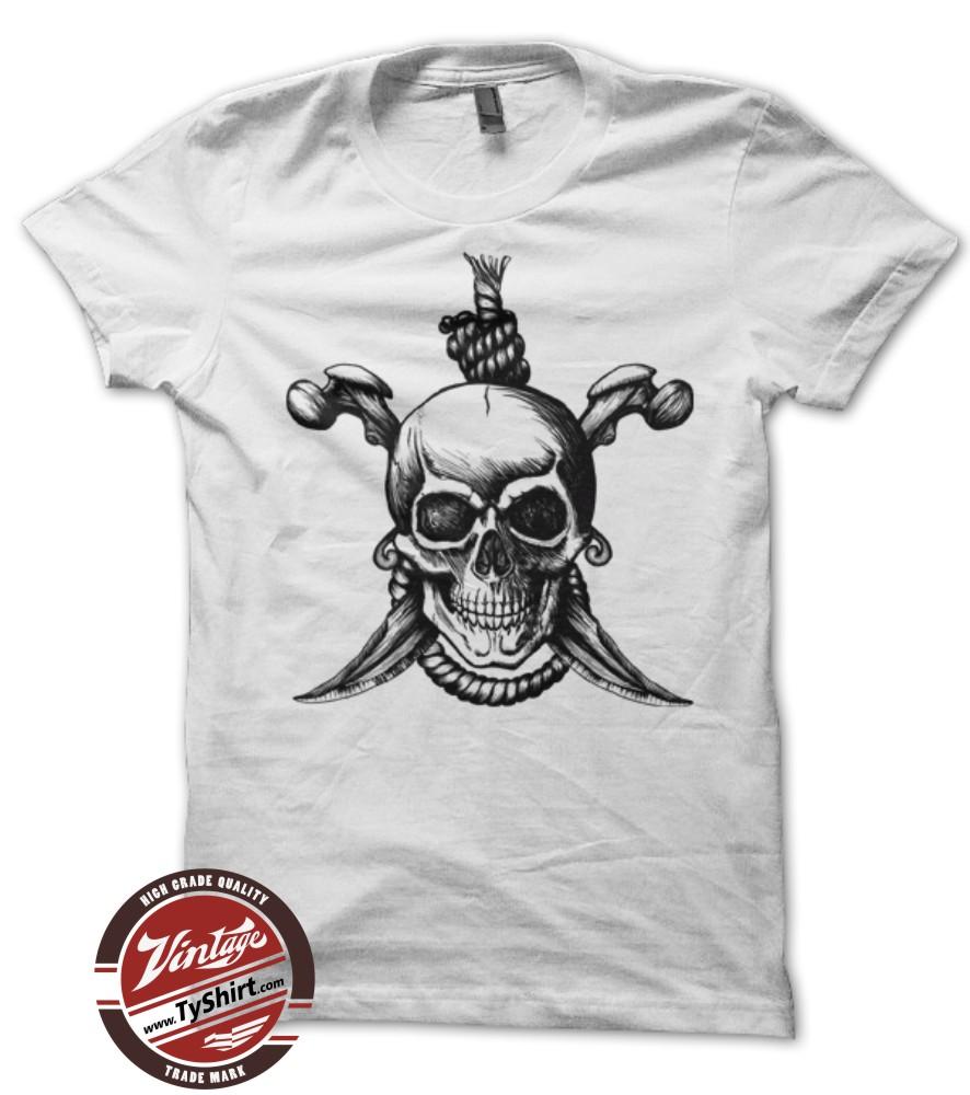 Tee shirt tête de mort