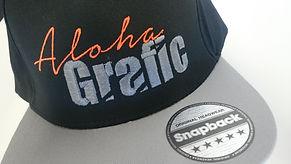 casquette snapback aloha grafic