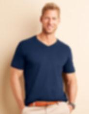 Tee Shirt Gildan Col V