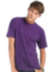 tee shirt B&C exact 190