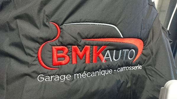 broderie qualité made in france aloha grafic garage auto bmk carrosserie