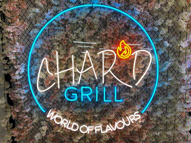 Grill custom neon sign ed