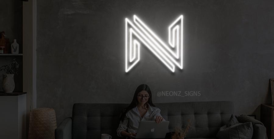 N logo Neon Sign