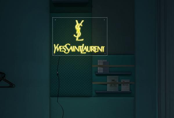 Yves Saint Laurent  Neon Sign