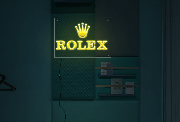 Rolex  Neon Sign