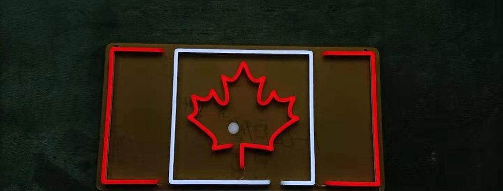 Canadian Flag Led Neon Sign